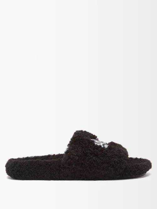 Calvin Klein 205w39nyc - Embroidered High Rise Jeans - Mens - Blue