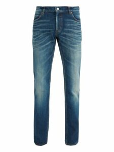 Balenciaga - Slim Fit Faded Wash Jeans - Mens - Blue