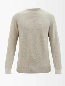 Alexander Mcqueen - Tapered Leg Cotton Jersey Track Pants - Mens - Light Grey