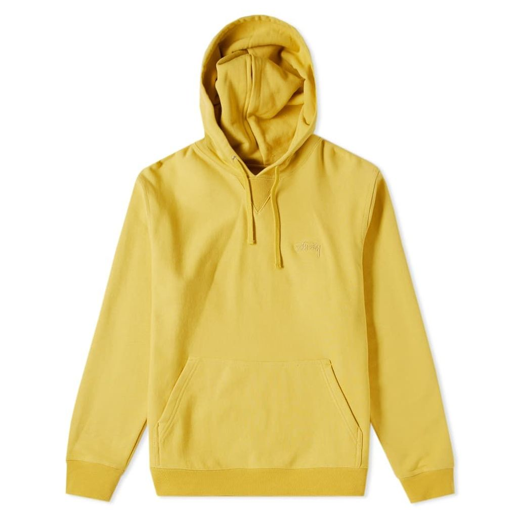 Stussy Stock Terry Hoody Lemon