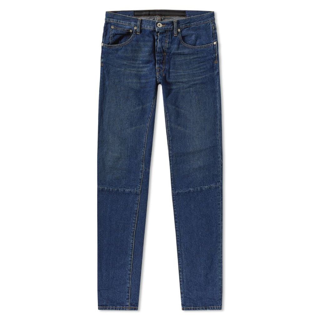Unravel Project Vintage Skinny Jean Indigo Stone