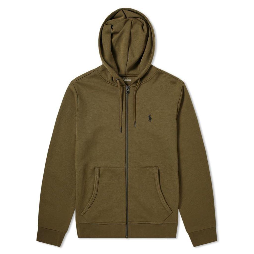 Polo Ralph Lauren Tech Fleece Zip Hoody Defender Green