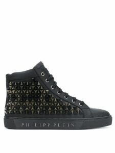 Philipp Plein studded hi-top sneakers - Black