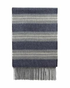 The Men's Store at Bloomingdale's Striped Cashmere Scarf - 100% Exclusive