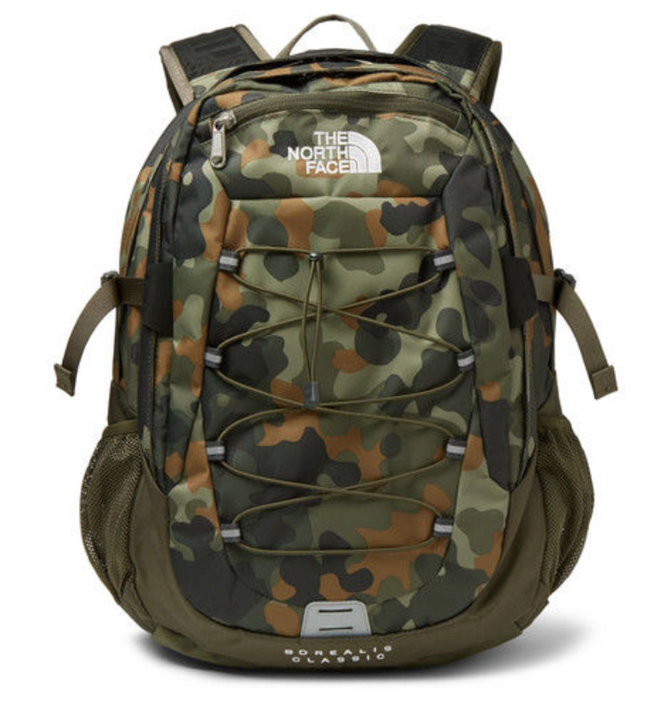 The North Face - Borealis Camouflage-print Canvas Backpack - Army green