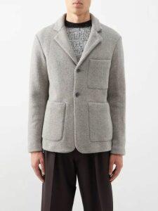 Frescobol Carioca - Straight Leg Linen Blend Trousers - Mens - Navy