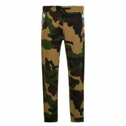 Moschino Camouflage Jogging Bottoms