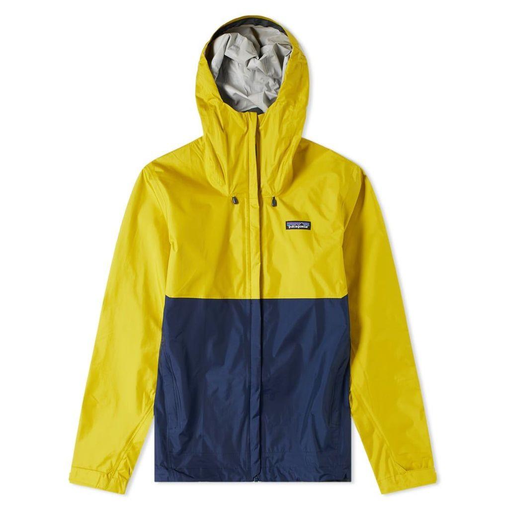 Patagonia Torrentshell Jacket Textile Green