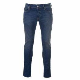 Diesel Jeans Sleekner Distressed Jeans