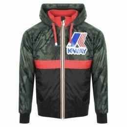 K Way Le Vrai Remake 145 Padded Jacket Green