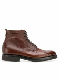 Henderson Baracco lace-up ankle boots - Brown