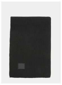 Acne Studios Bansy Large Face Scarf in Blue size One Size
