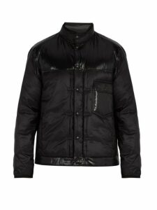 7 Moncler Fragment - Quilted Down Jacket - Mens - Black