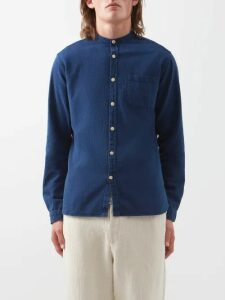 7 Moncler Fragment - Slim Fit Denim Jeans - Mens - Blue