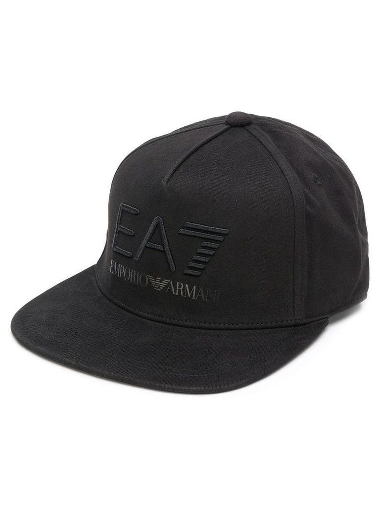 f0c7b51864e Ea7 Emporio Armani embroidered logo cap - Black by Ea7 Emporio ...
