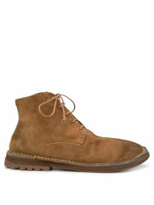 Marsèll distressed ankle boots - Brown