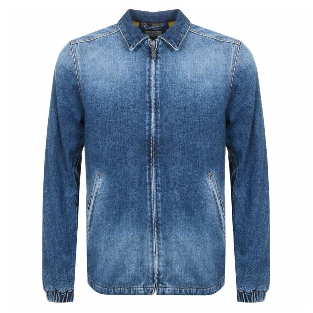 Nudie Jeans Torkel Vintage Denim Jacket Blue