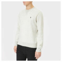 Polo Ralph Lauren Men's Crew Neck Tech Sweatshirt - Light Sport Heather - L - Grey