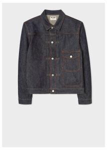 Paul Smith x FULLCOUNT - Men's 13oz Selvedge Denim Pleat-Front Jacket
