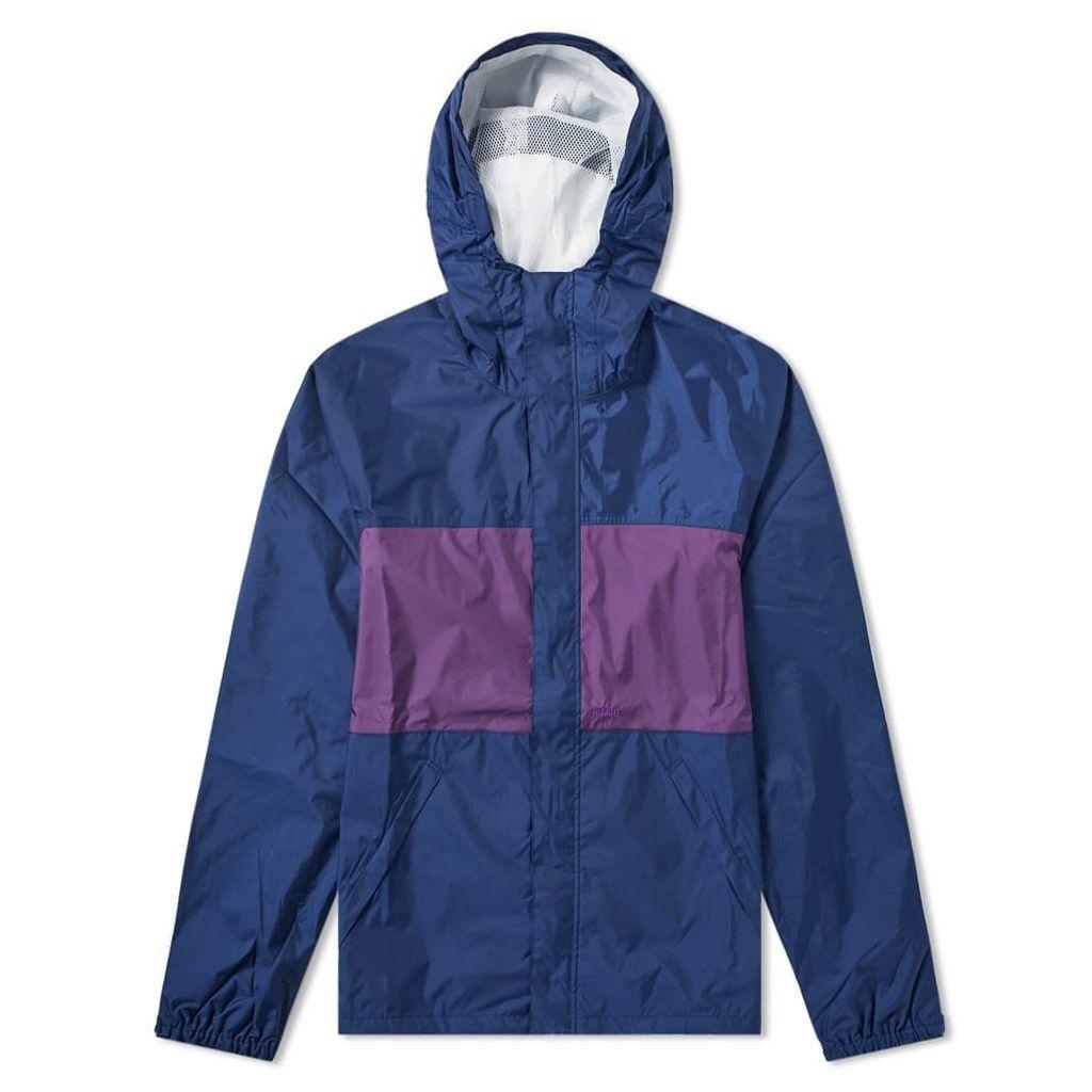 Adsum Zip Through Anorak Blue & Purple