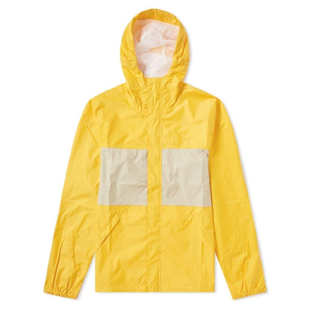 Adsum Zip Through Anorak Yellow & Beige