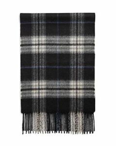 The Men's Store at Bloomingdale's Cashmere Classic Plaid Scarf - 100% Exclusive