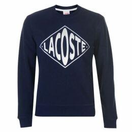 Lacoste Live Embroidered Fleece Sweatshirt