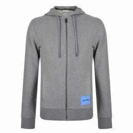 Calvin Klein Menswear Badge Full Zip Hooded Sweatshirt