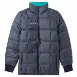 Adidas SPZL Carnforth Reversible Puffer Jacket Night Navy & Areo Reef
