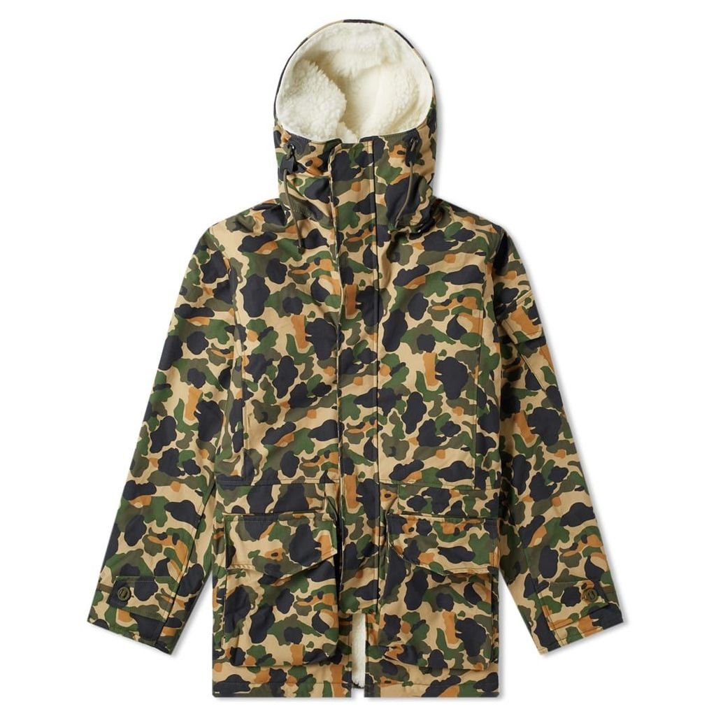 Ark Air Furry Master Camo Jacket Olive Camouflage