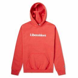 Liberaiders OG Logo Popover Hoody Red