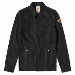 Fjällräven Greenland Re-Wool Shirt Jacket Black