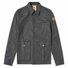 Fjällräven Greenland Re-Wool Shirt Jacket Grey