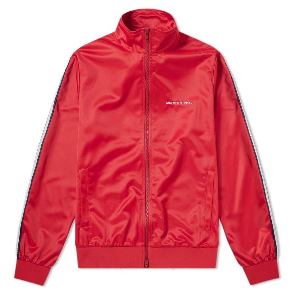 MKI Taped Track Jacket Red, Navy & White