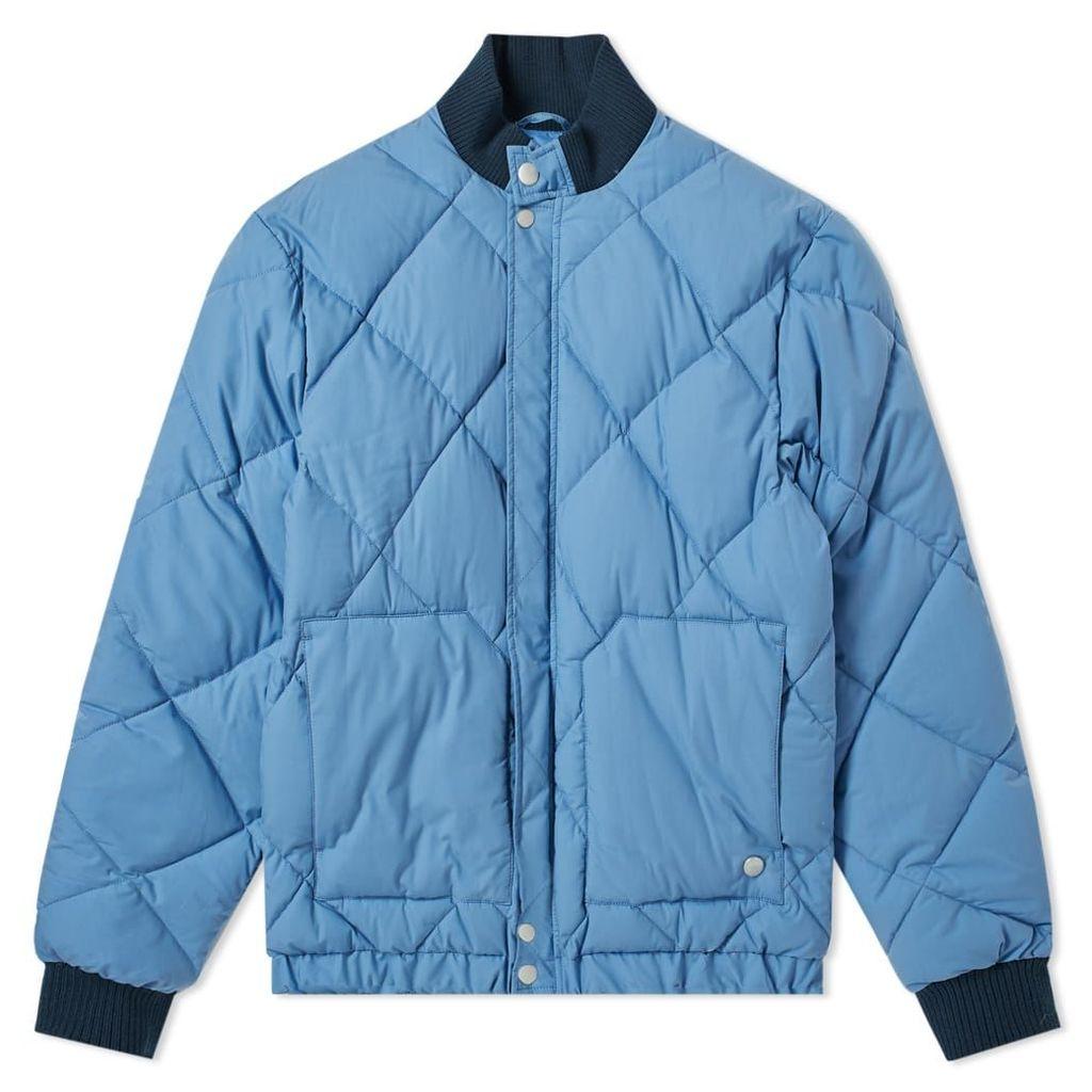 Nigel Cabourn x Peak Performance Short Down Jacket Powder Blue