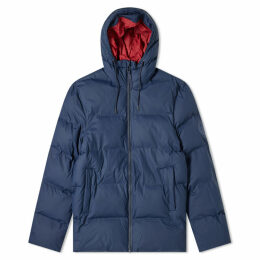 Rains Puffer Jacket Blue