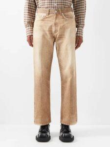 Balenciaga - Embroidered Cotton Blend Sweatshirt - Mens - Grey