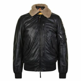 Parajumpers Josh Leather Bomber Jacket