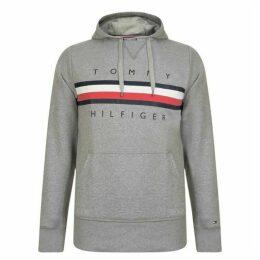 Tommy Hilfiger Stripe Logo Hoodie