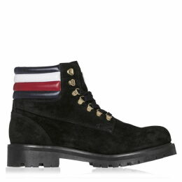 Tommy x Lewis Hamilton Stripe Suede Boots