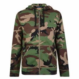 Polo Ralph Lauren Camouflage Zip Hooded Sweatshirt