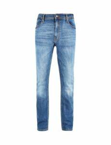 Mens Big & Tall Mid Blue Tyler Skinny Fit Jeans, blue