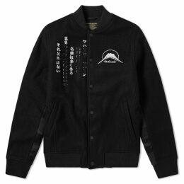 Maharishi Kanji Stadium Jacket Black