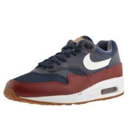 Nike Air Max 1 Trainers Navy