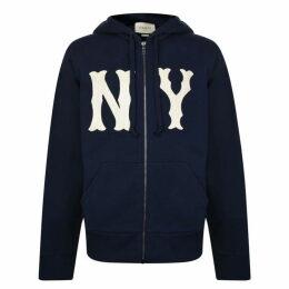 Gucci Ny Zip Hooded Sweatshirt