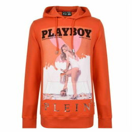 Philipp Plein Playboy Cover Girl Hooded Sweatshirt