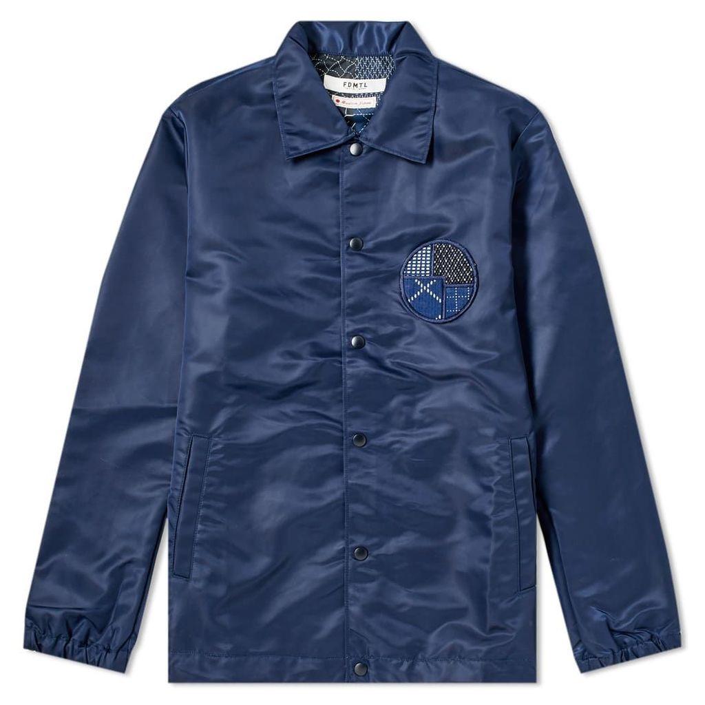 FDMTL Coach Jacket Navy