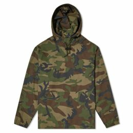 Stussy Ripstop Pullover Hoody Camo