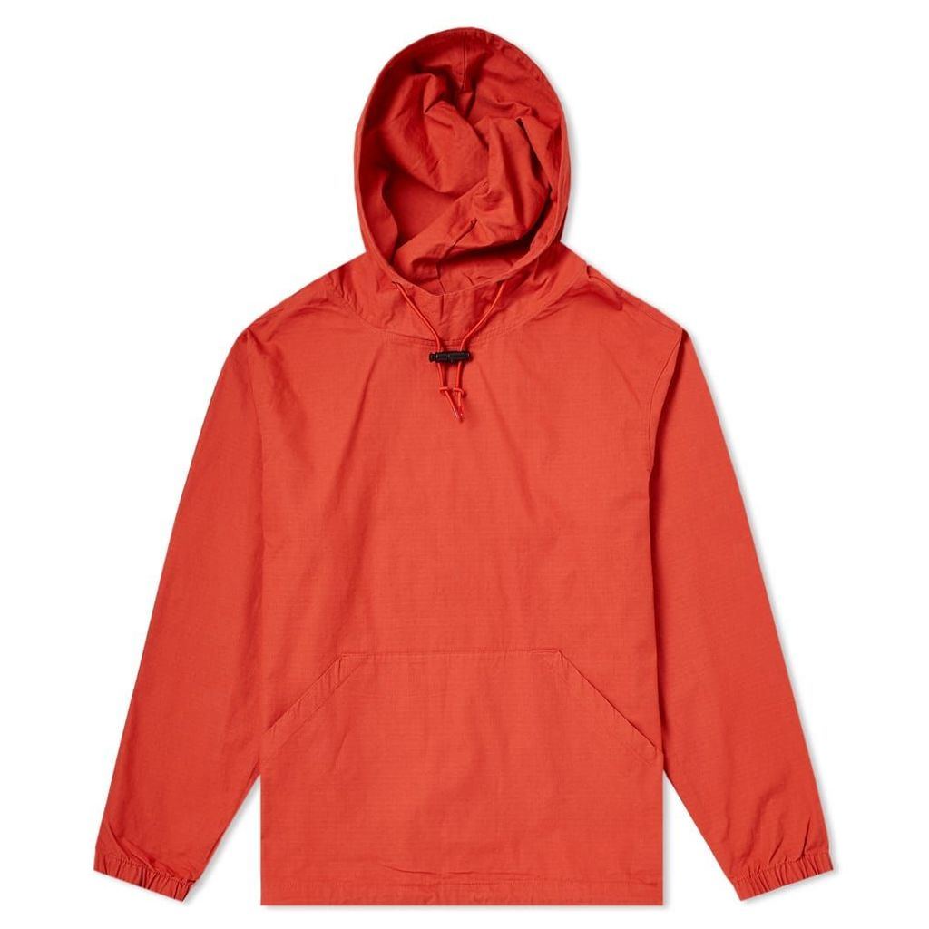 Stussy Ripstop Pullover Hoody Rust