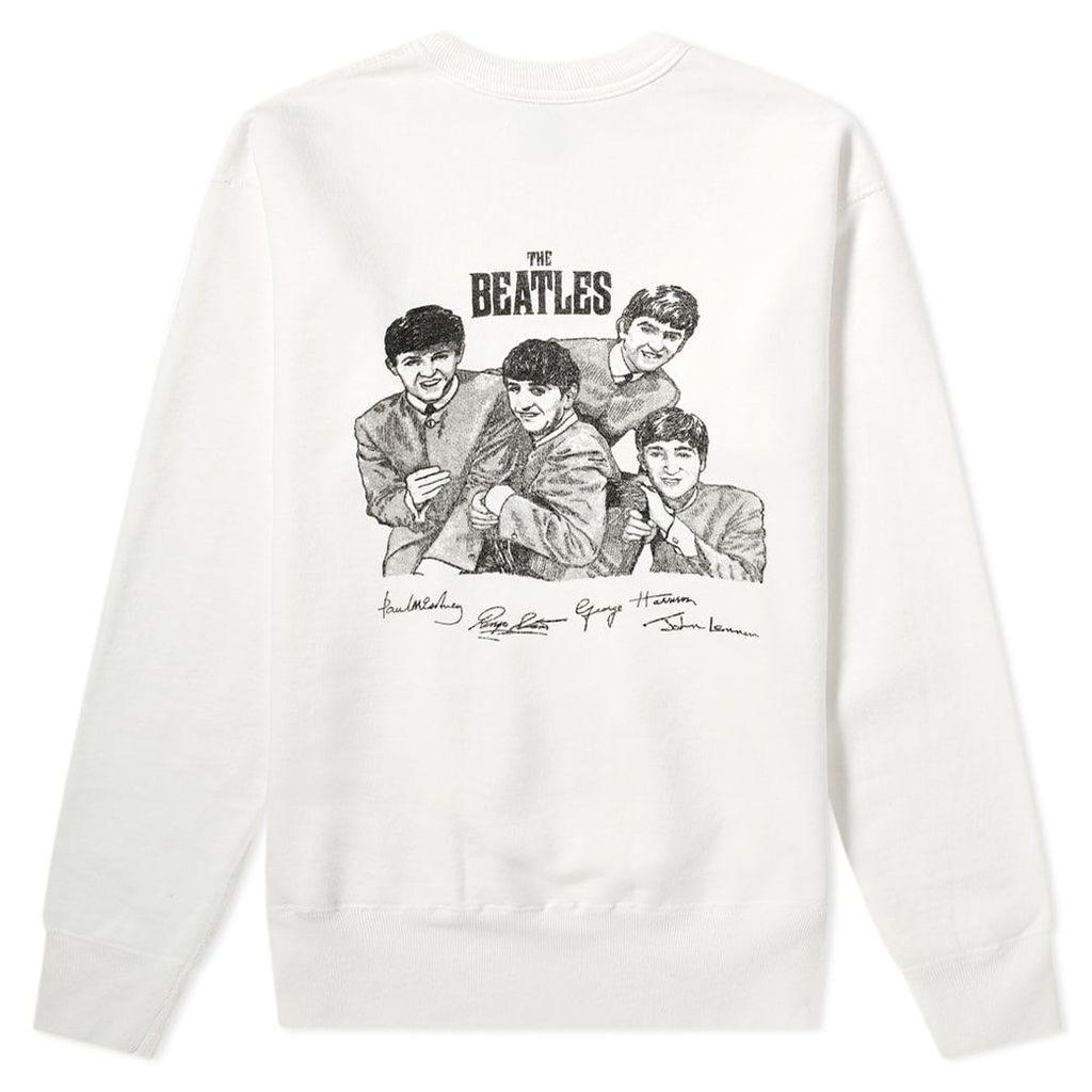 Human Made Beatles Sweat White